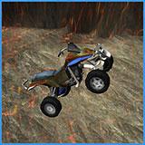 Stunt Racer Volcano Escape